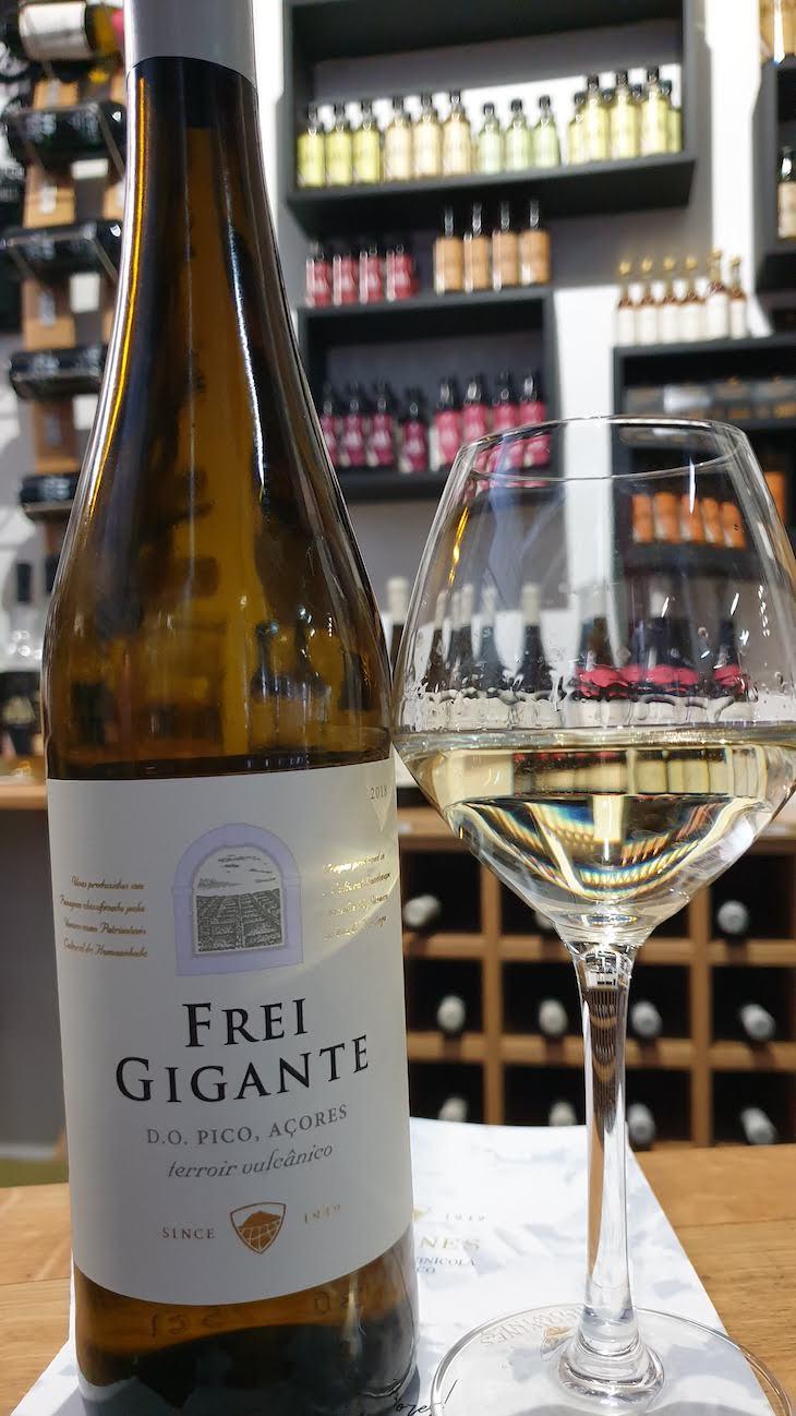 Vinho Frei Gigante - Pico Wines - Açores © Viaje Comigo