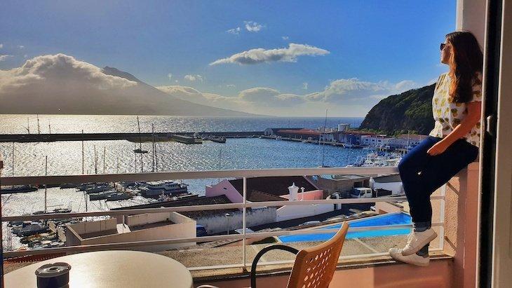 Vista do Hotel Azoris Faial Garden - Faial - Açores © Viaje Comigo