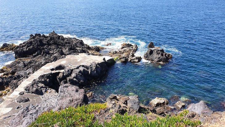 Zona Balnear das Cinco Ribeiras a- Terceira - Açores © Viaje Comigo