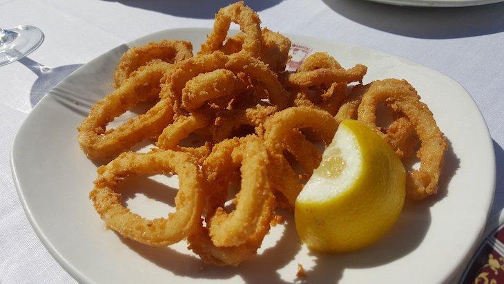Calamares Restaurante Hegar, Plaza Mayor - Madrid © Viaje Comigo