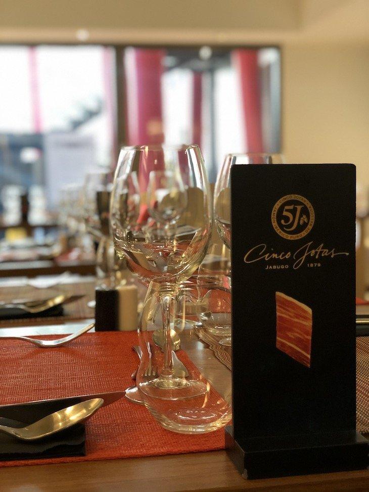 Presunto 5 Jotas -restaurante Bom Sucesso Gourmet - Porto © Viaje Comigo