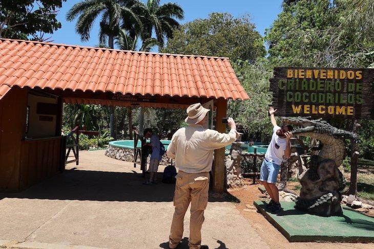 Parque de Crocodilos - Ciénaga de Zapata - Cuba © Viaje Comigo