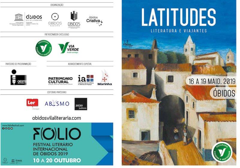 Programa do Festival Latitudes - Literatura e Viajantes 2019 - DR