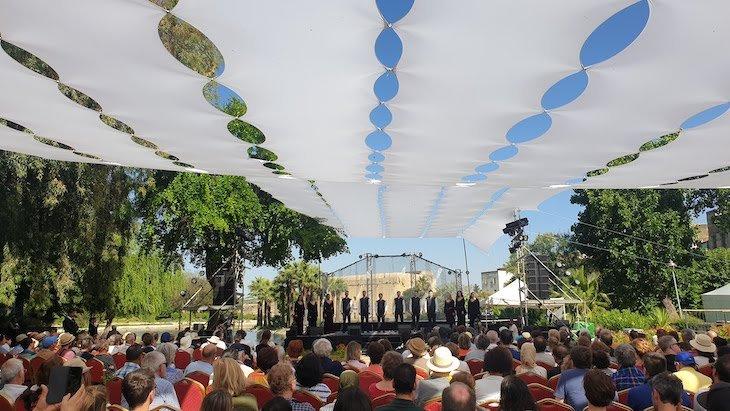Anuna no Jardim Jnan Sbil: Festival de Música Sagrada do Mundo - Fez - Marrocos © Viaje Comigo