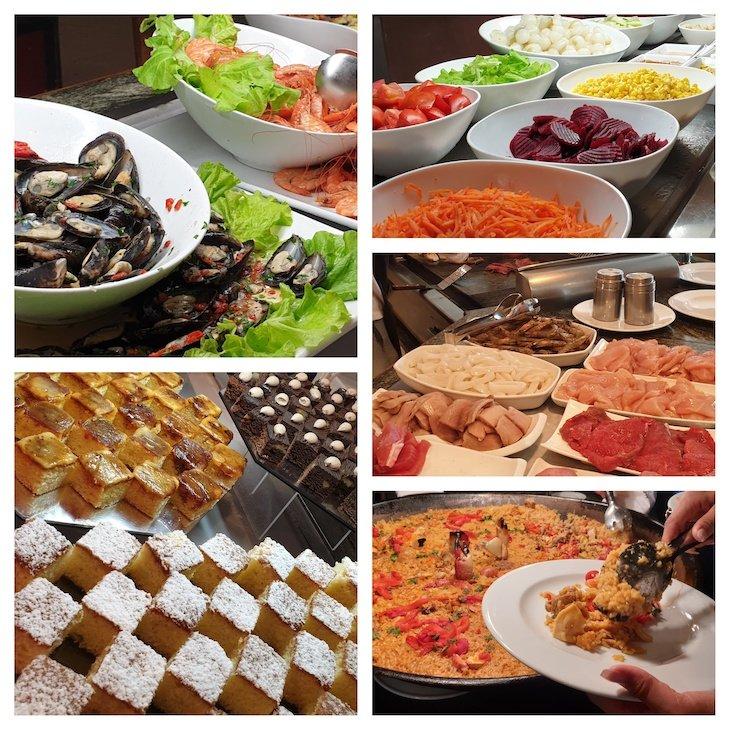 Jantar no restaurante Buffet no Hotel Habana Libre - Havana - Cuba © Viaje Comigo