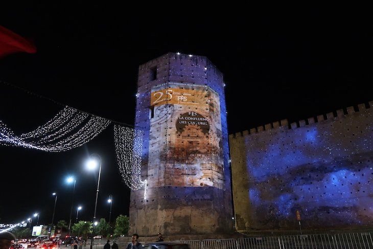 Cartaz do Festival de Música Sagrada do Mundo - Fez - Marrocos © Viaje Comigo