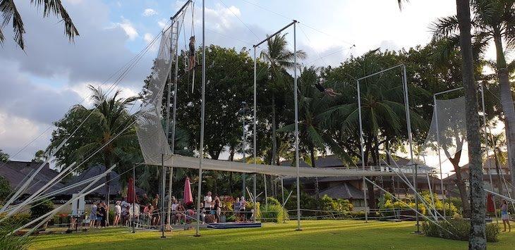 Trapézio no Club Med Bali - Indonésia © Viaje Comigo