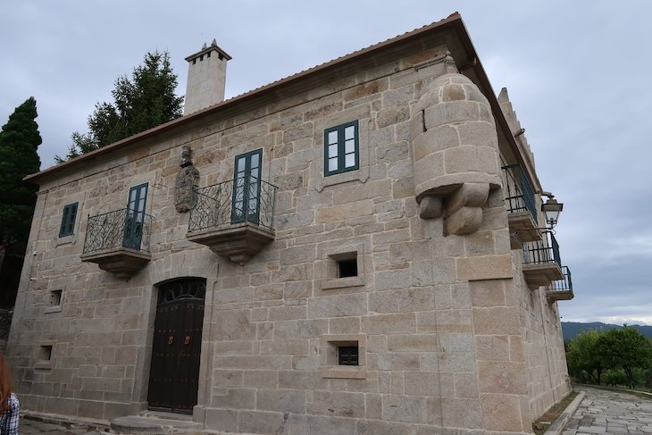 Paço do século XVIII do Marqués de Vizhoja - Rias Baixas - Espanha © Viaje Comigo