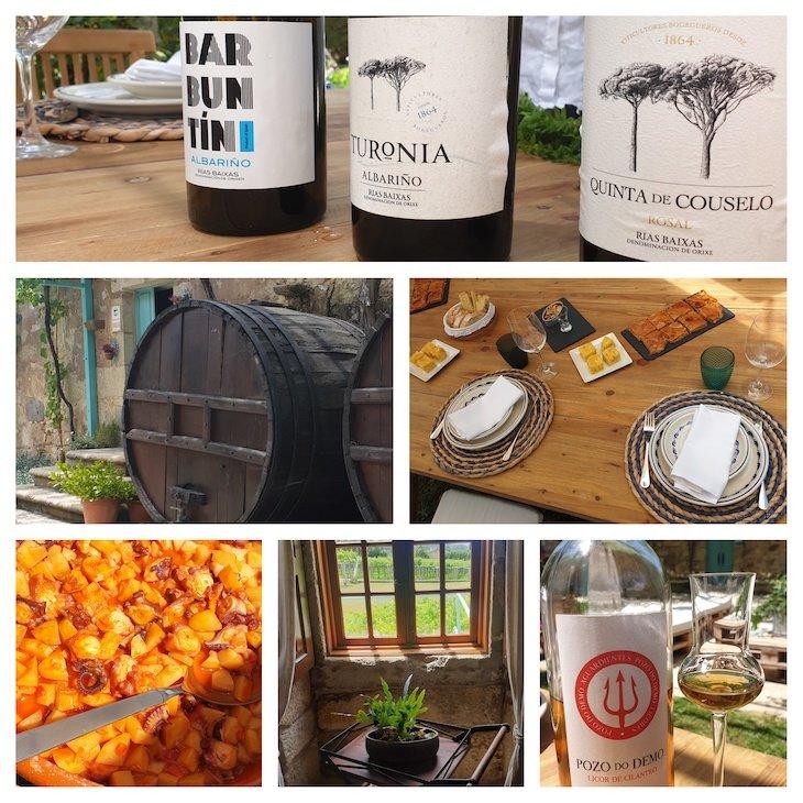 Quinta de Couselo - Rota do Vinho Rias Baixas - Galiza - Espanha© Viaje Comigo