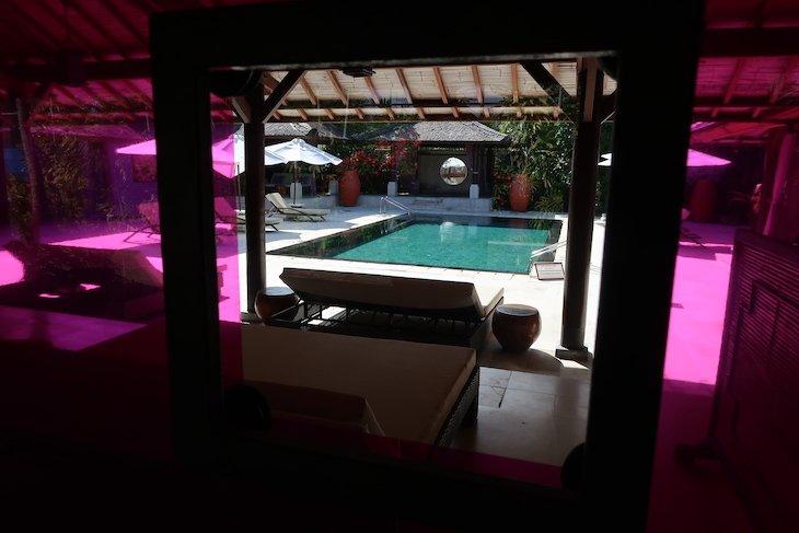 Piscina do Spa do Club Med Bali - Indonésia © Viaje Comigo