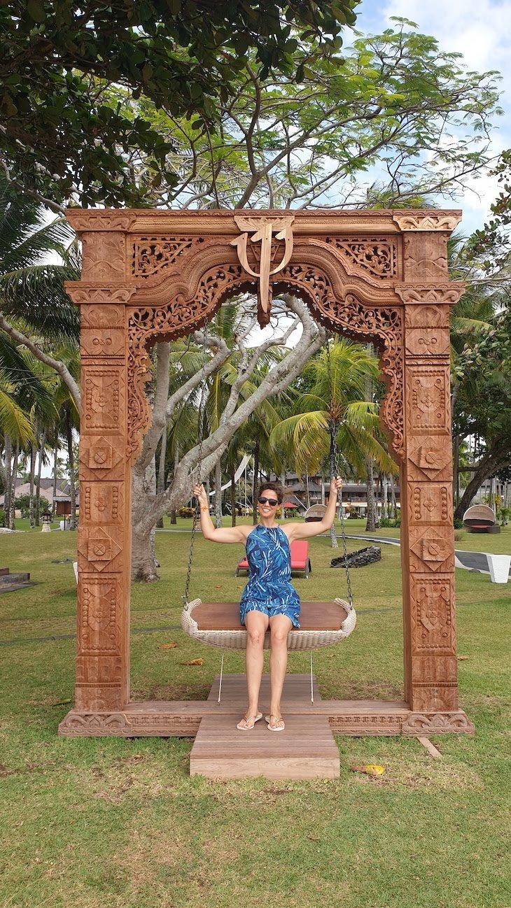 Baloiço do Club Med Bali - Indonésia © Viaje Comigo