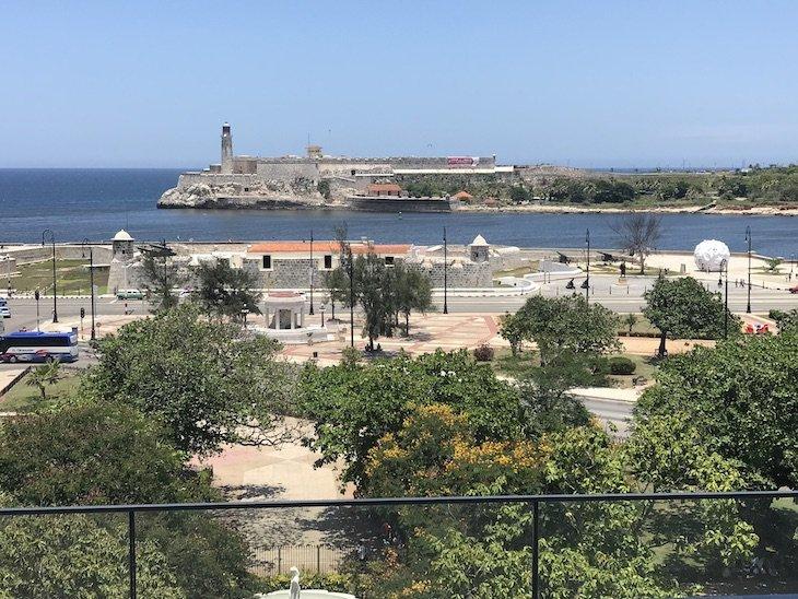 Vista do Iberostar Grand Packard Havana - Cuba © Viaje Comigo