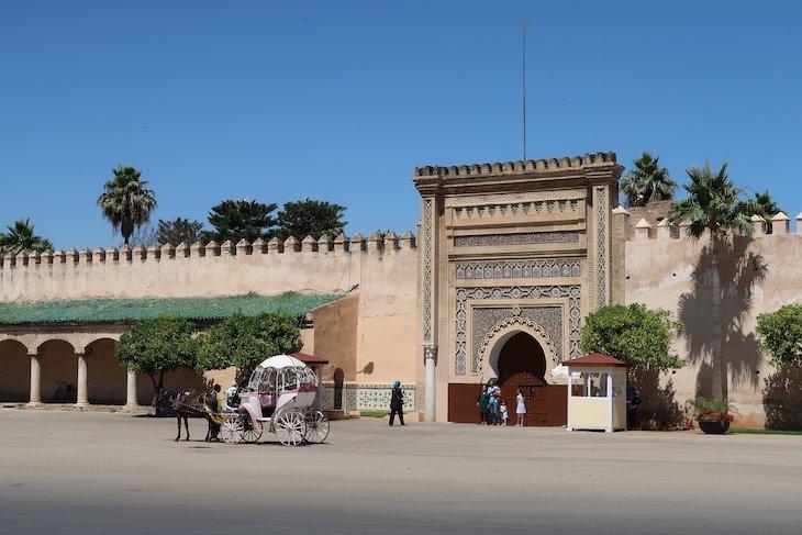 Palácio Real de Meknès - Marrocos © Viaje Comigo