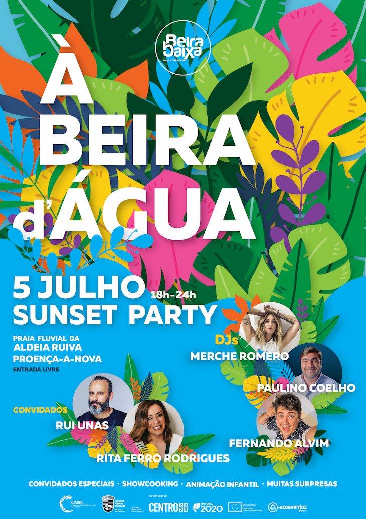 Sunset Party na Praia Fluvial da Aldeia Ruiva, Proença-a-Nova