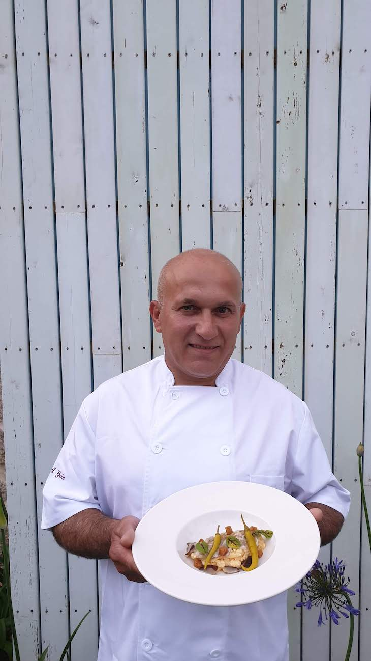 Chef Juan Antonio Groba do Hotel Nande - As Neves - Pontevedra - Espanha © Viaje Comigo