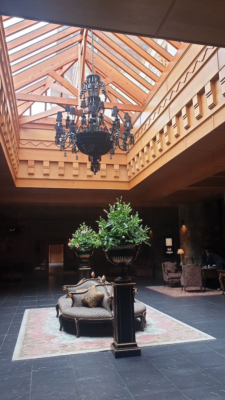 Restaurante do Hotel Michlifen Resort & Golf - Ifrane - Marrocos © Viaje Comigo