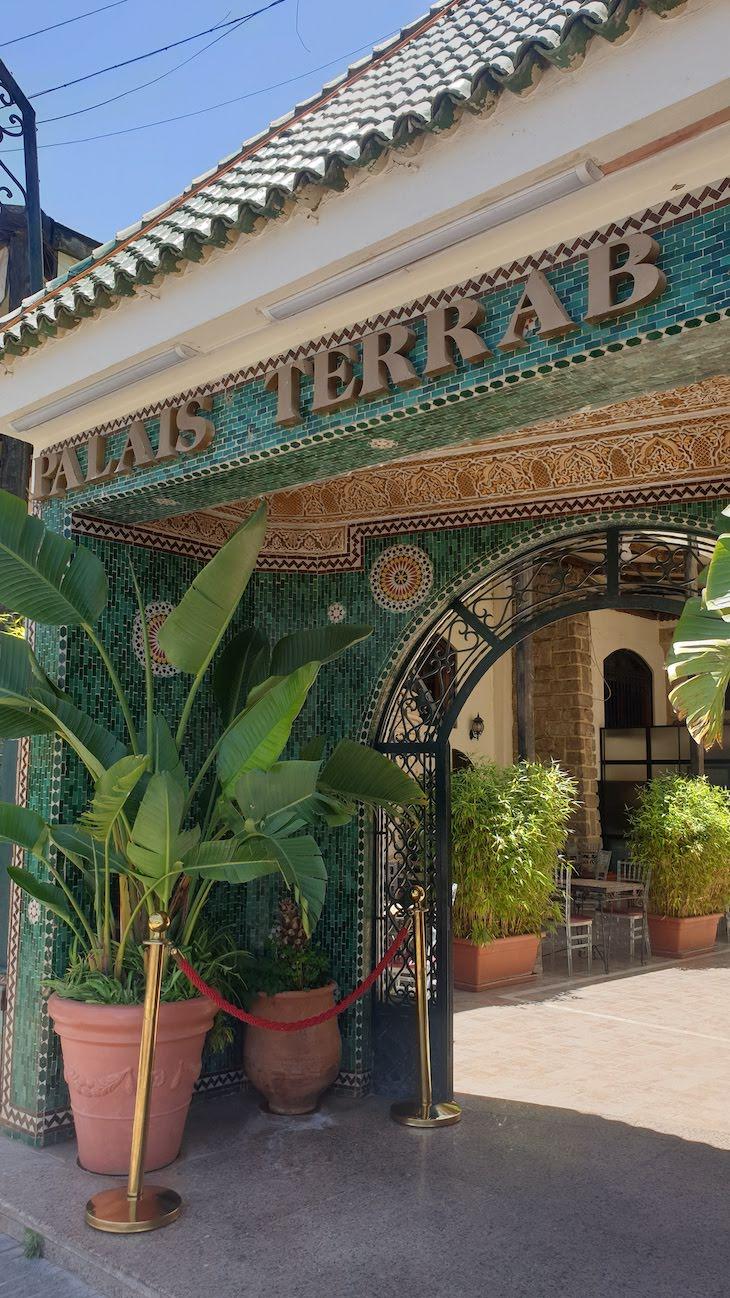 Restaurante Palais Terrab -Meknès - Marrocos © Viaje Comigo