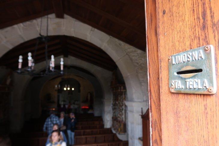 Capela de Santa Tecla - Galiza Espanha © Viaje Comigo