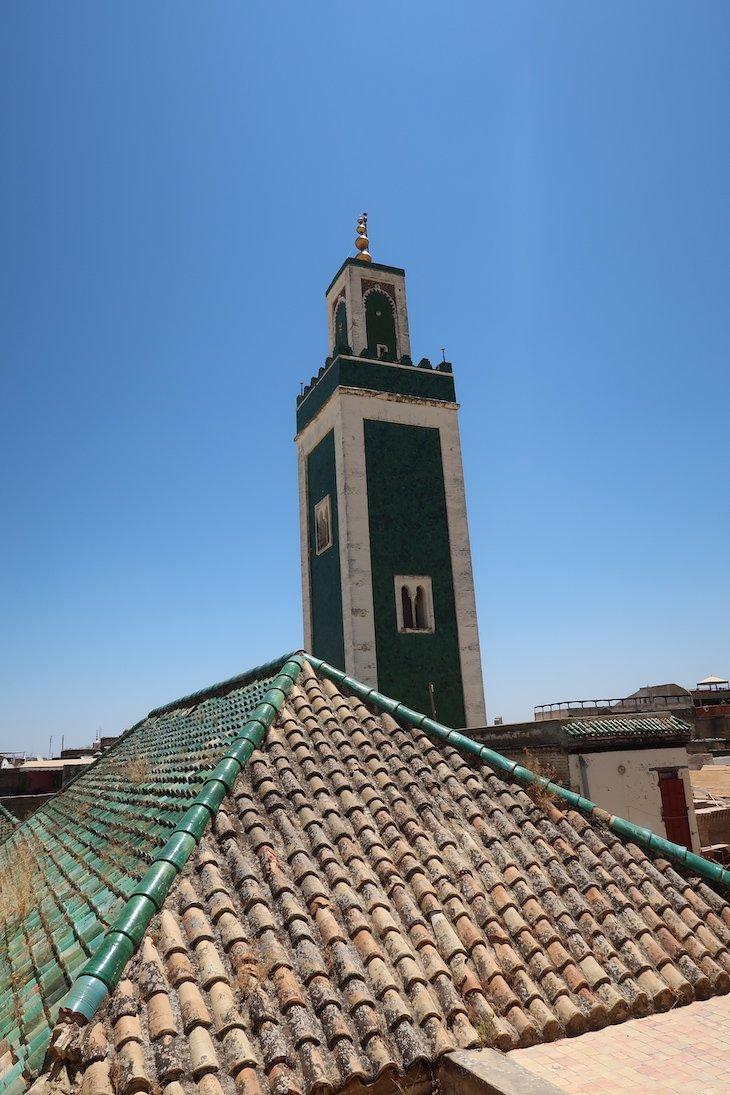 Madraça Bu Inania - Meknès - Marrocos © Viaje Comigo