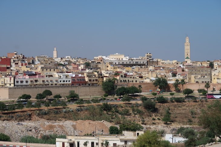 Muralha de Meknès - Marrocos © Viaje Comigo