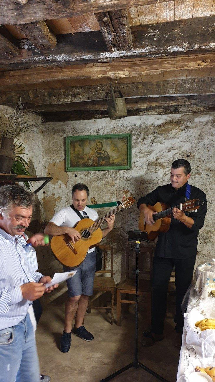 Músicos no Roteiro dos Sabores - Ciclo 12 em Rede - Linhares da Beira - AHP © Viaje Comigo