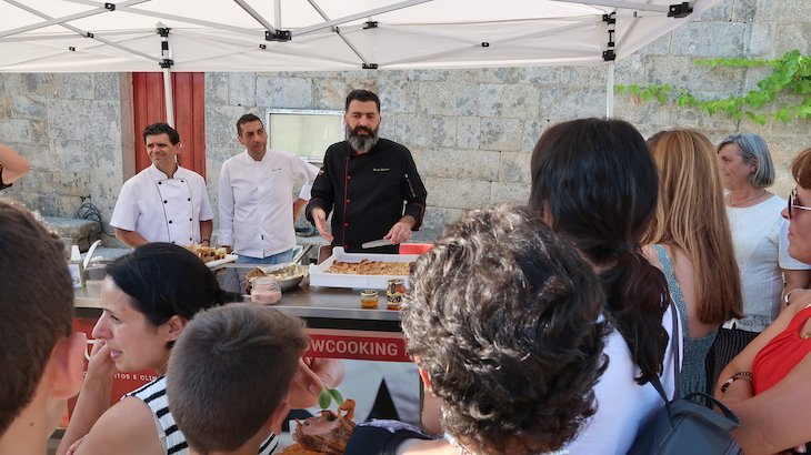 Showcooking em Marialva, com chef Paulo Ramos - Aldeia Histórica de Portugal © Viaje Comigo