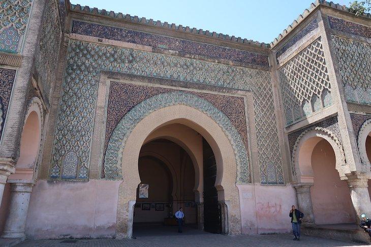 Porta Bab Mansour el Aleuj - Meknès - Marrocos © Viaje Comigo