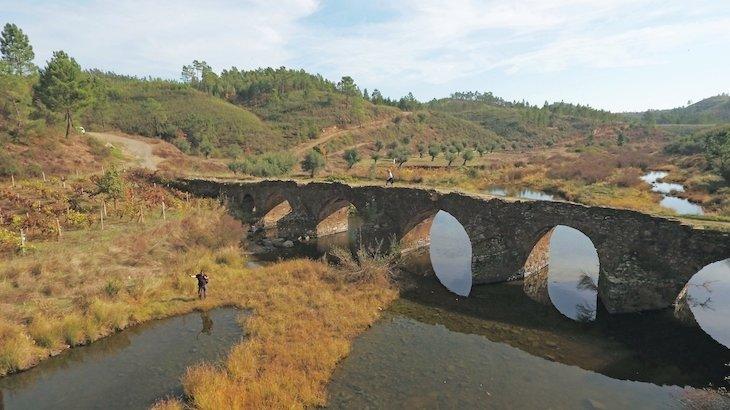 Ponte romana S.Pedro do Esteval © Direitos Reservados