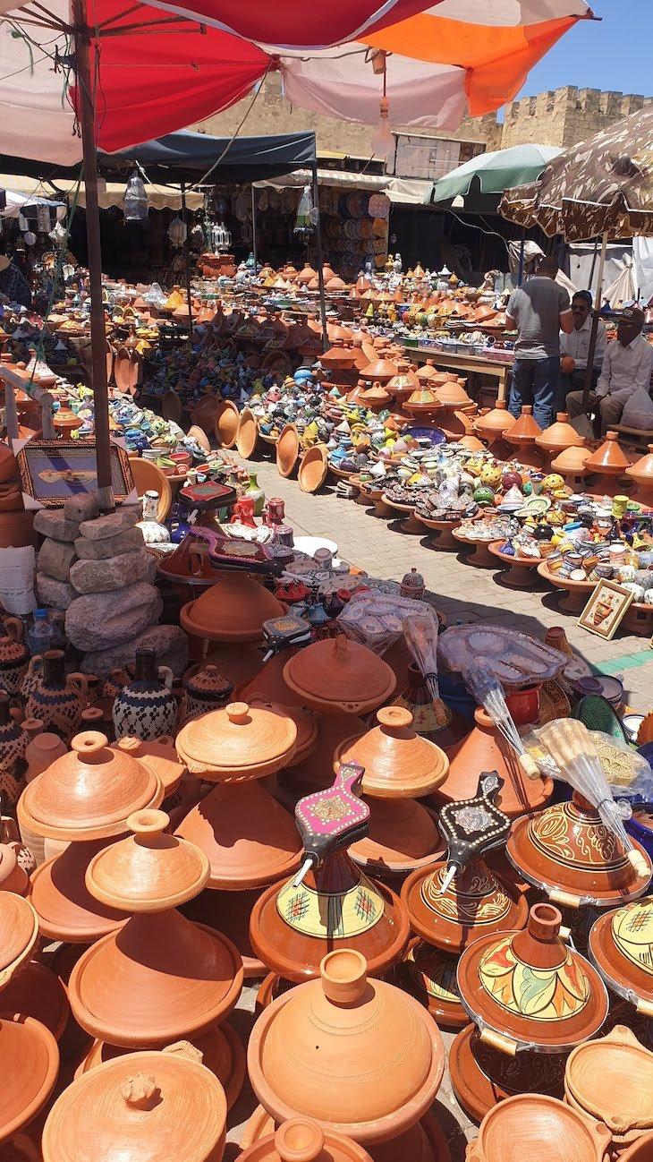 Praça Lahdim de Meknès - Marrocos © Viaje Comigo