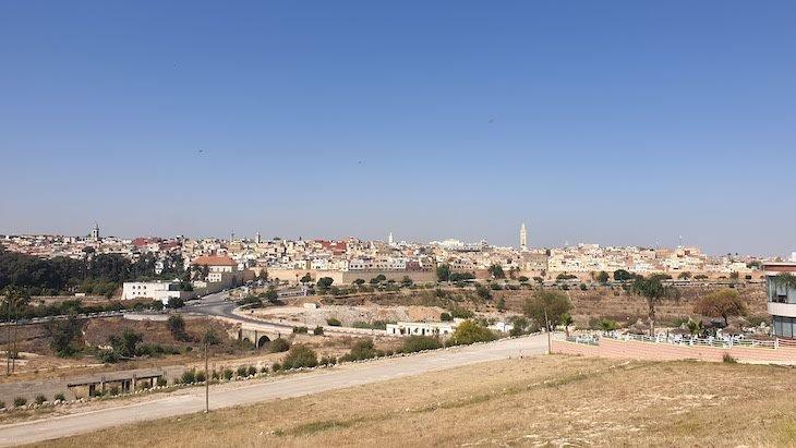 Vista de Meknès - Marrocos © Viaje Comigo