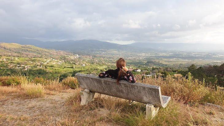 Vista do monte junto do Hotel Nande - As Neves - Pontevedra - Espanha © Viaje Comigo