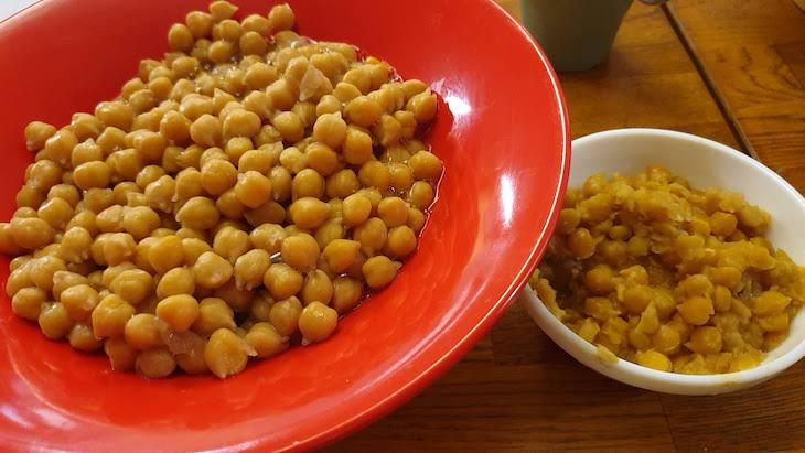 Receita de hummus - grão de bico © Viaje Comigo
