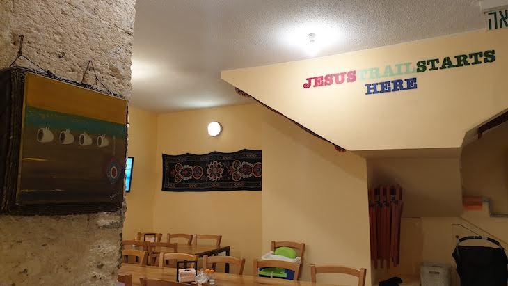 Pequeno-almoço do Fauzi Azar by Abraham Hostels - Nazare - Israel © Viaje Comigo