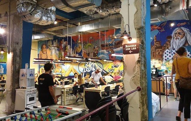 Abraham Hostel Tel Aviv - Telavive - Israel © Viaje Comigo