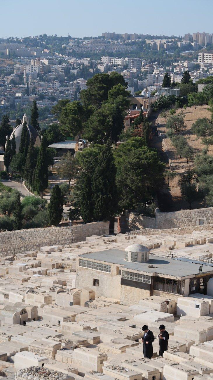 Cemitério Judeu - Monte das Oliveiras - Jerusalém - Israel © Viaje Comigo