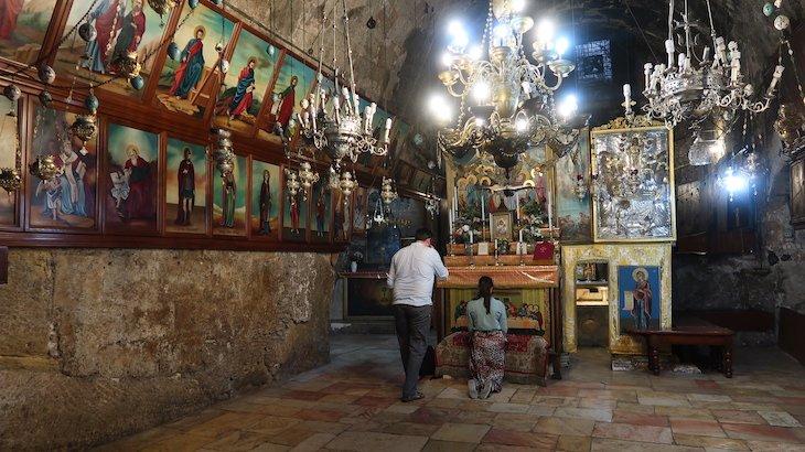 Sepulcro de Maria - Monte das Oliveiras - Jerusalém - Israel © Viaje Comigo