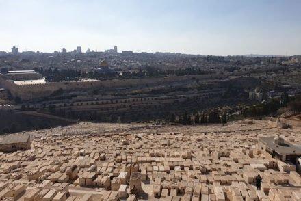 Vista do Monte das Oliveiras - Jerusalém - Israel © Viaje Comigo