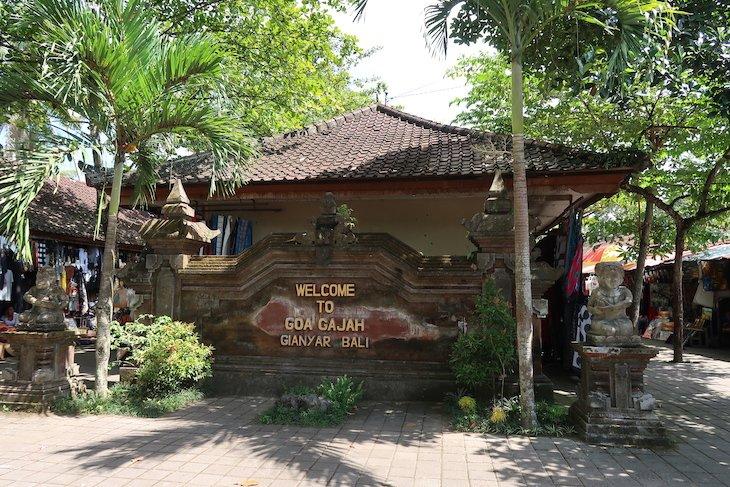 Goa Gajah - Gruta Elefante - Ubud - Bali - Indonésia © Viaje Comigo