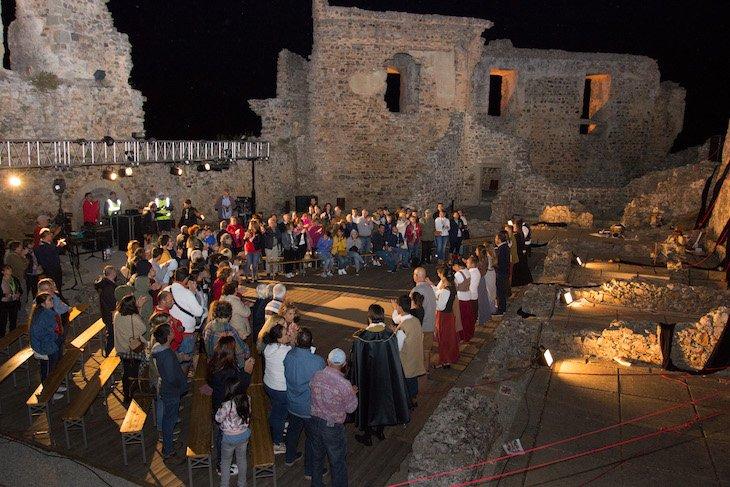 Encenação no âmbito do Ciclo 12 em Rede em Castelo Rodrigo © Aldeias Históricas de Portugal