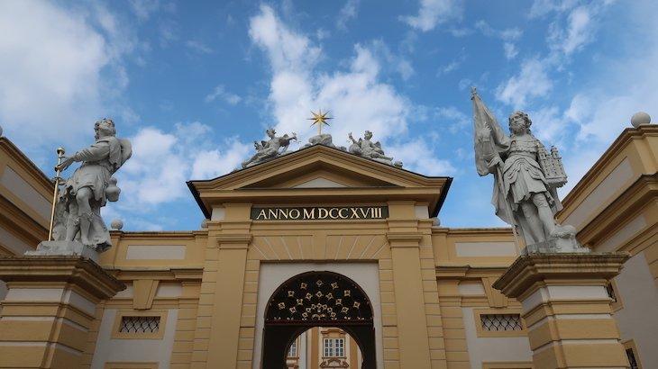 Abadia de Melk - Áustria © Viaje Comigo