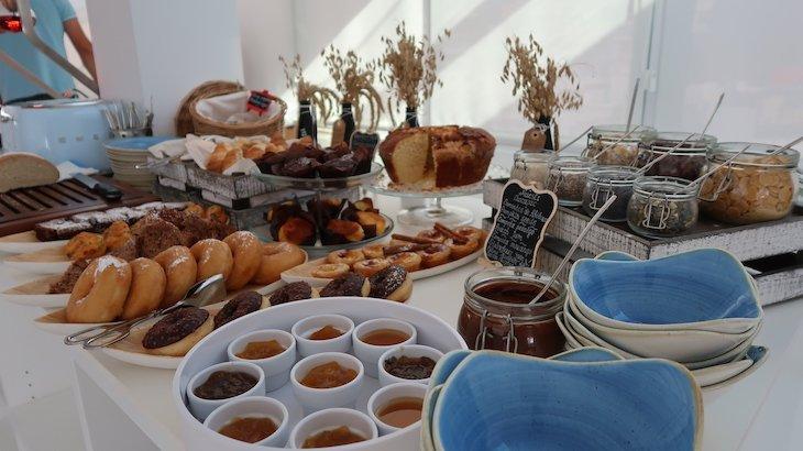 Pequeno-almoço do Hotel Califórnia Urban Beach - Albufeira - Algarve © Viaje Comigo
