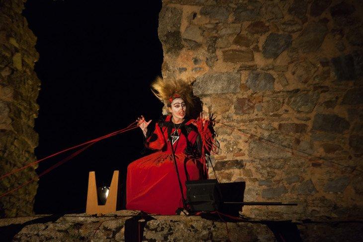 Teatro no âmbito do Ciclo 12 em Rede em Castelo Rodrigo © Aldeias Históricas de Portugal