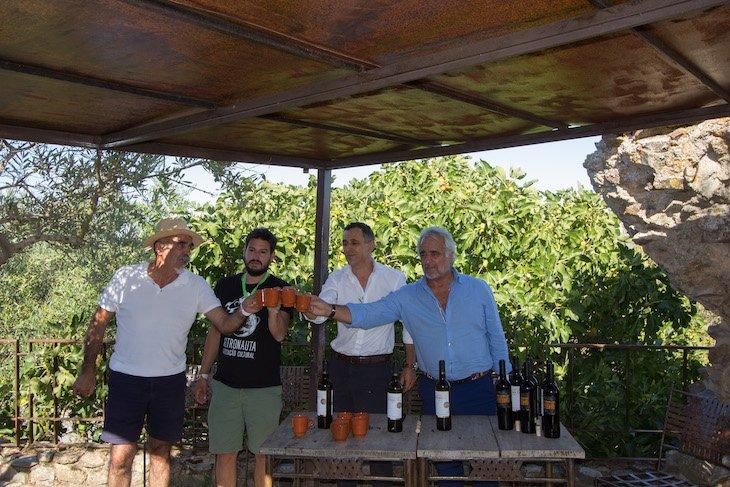 Vinhos no Ciclo 12 em Rede em Castelo Rodrigo © Aldeias Históricas de Portugal