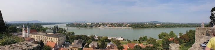 Panorâmica do rio Danúbio - Esztergom - Hungria © Viaje Comigo
