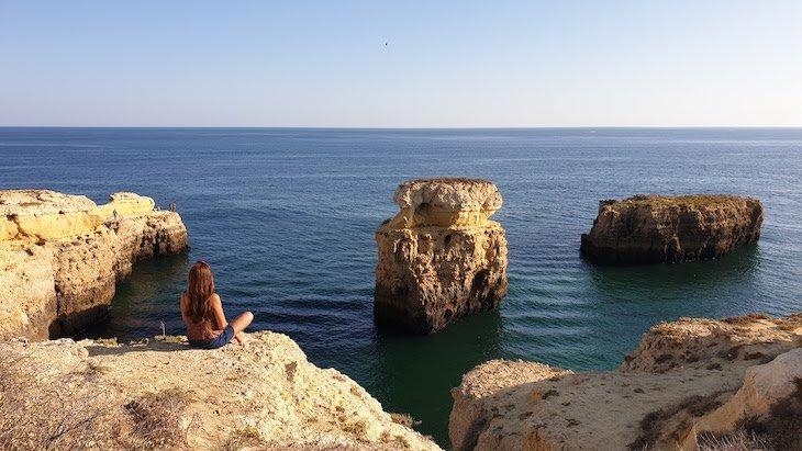 Falésia de Albufeira - Algarve © Viaje Comigo