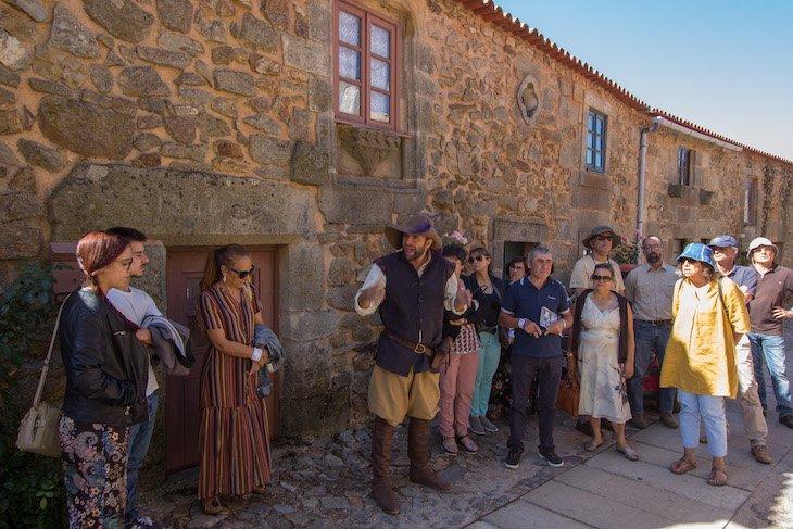 Visitas guiadas no âmbito do Ciclo 12 em Rede em Castelo Rodrigo © Aldeias Históricas de Portugal