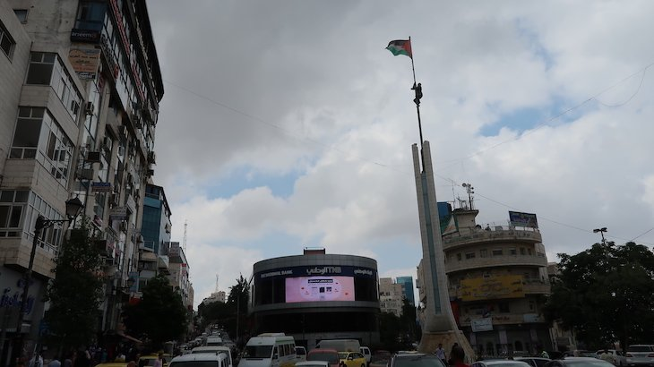 Praça de Ramallah - Palestina © Viaje Comigo
