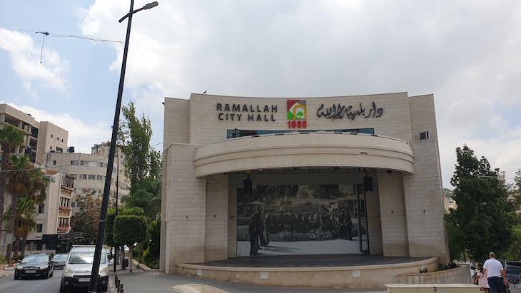 City Hall de Ramallah - Palestina © Viaje Comigo