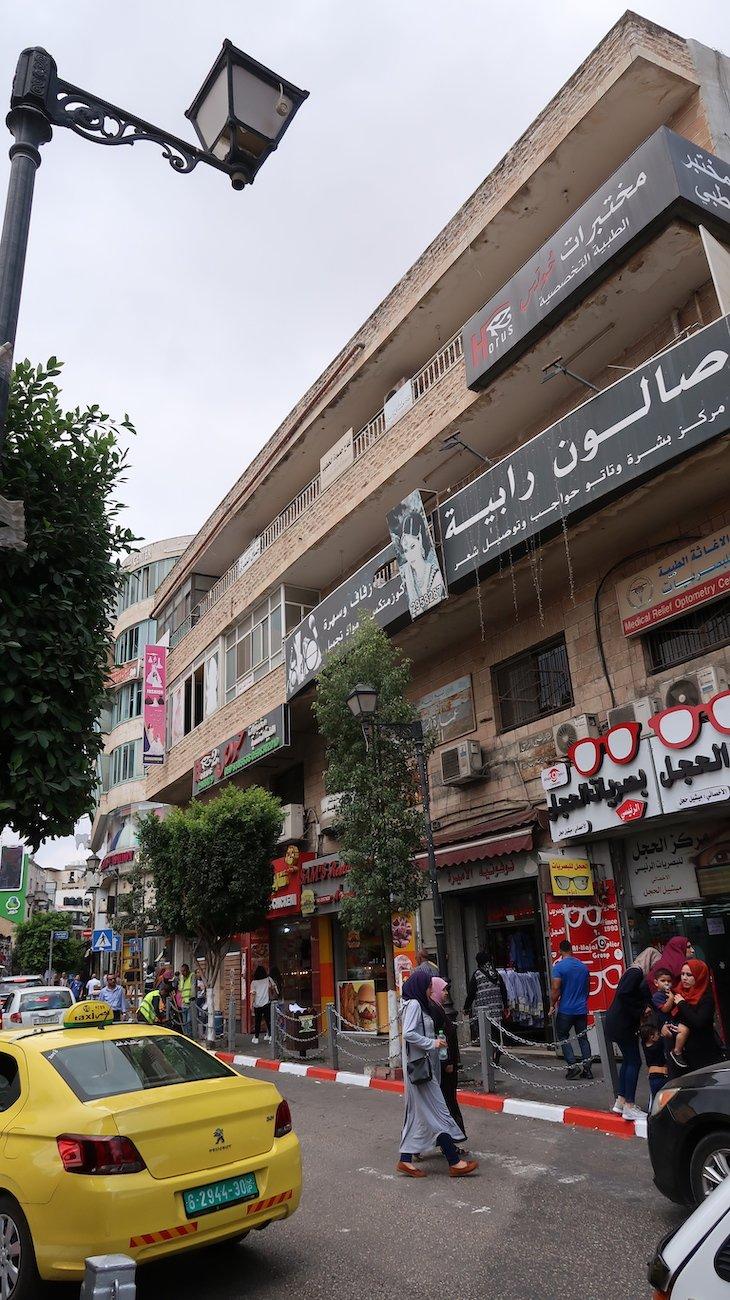 Comércio de Ramallah - Palestina © Viaje Comigo