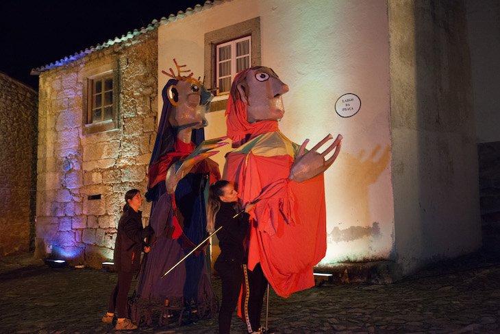 Encenação em Castelo Mendo - DR © Aldeias Históricas de Portugal